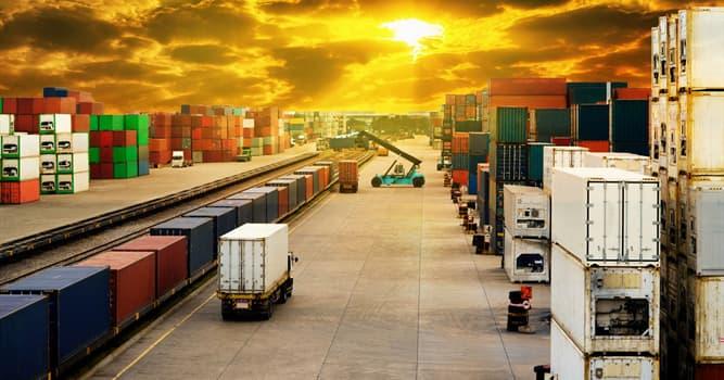 Sociedad Pregunta Trivia: ¿Qué es lo opuesto a la importación?