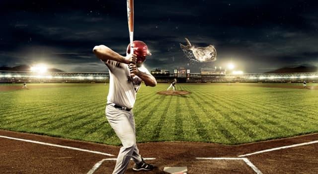 Deporte Pregunta Trivia: ¿Qué deporte de equipo se practica con bate y pelota?