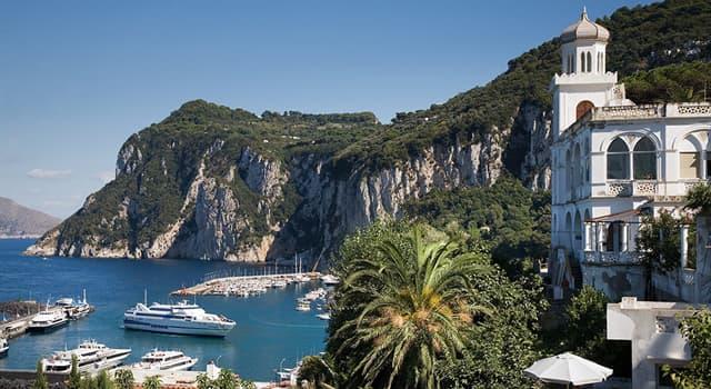 Geografía Pregunta Trivia: ¿A qué país pertenece la isla de Capri?