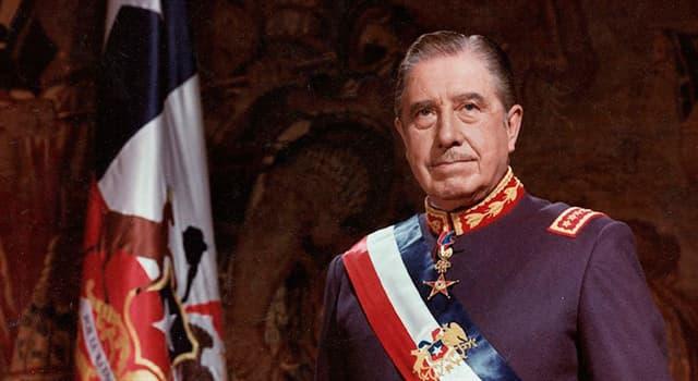 Historia Pregunta Trivia: ¿Quién fue Augusto Pinochet?