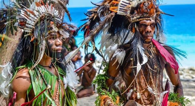 Geografía Pregunta Trivia: ¿Dónde se encuentran los pueblos indígenas denominados papúes?