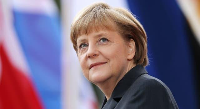 Sociedad Pregunta Trivia: ¿En qué país Angela Merkel ha mantenido, desde el 2005, el puesto de Canciller?