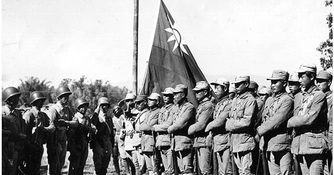 History Trivia Question: The Second Sino-Japanese War merged into which war?