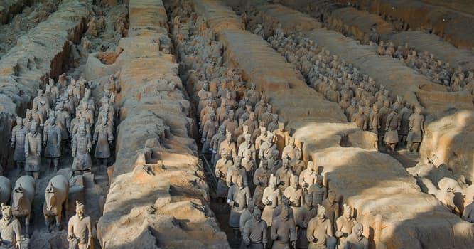Cultura Pregunta Trivia: ¿Cuántos soldados tiene el famoso Ejército de Terracota en China?