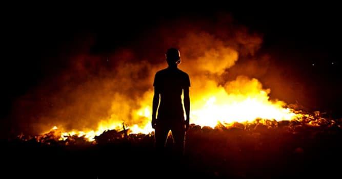 Сiencia Pregunta Trivia: ¿Qué trastorno mental se caracteriza por la incapacidad de controlar impulsos para iniciar incendios?