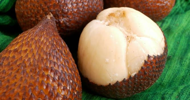 Culture Trivia Question: What is the fruit salak also known as?