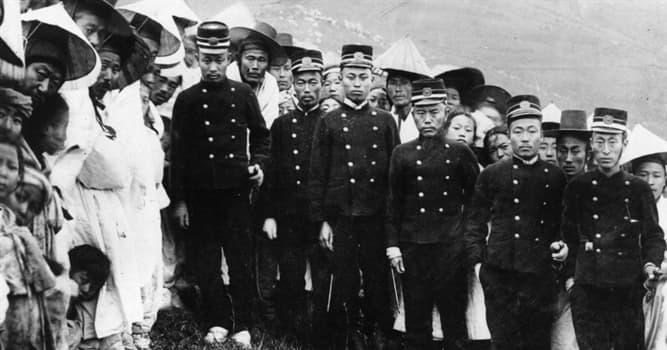 History Trivia Question: When did Japan annex Korea?