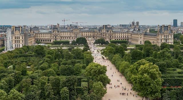 Cultura Pregunta Trivia: ¿En qué lugar está emplazado el Jardín de las Tullerías?