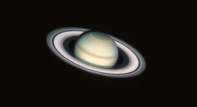 Сiencia Pregunta Trivia: ¿Cuál de estos planetas tiene anillos?
