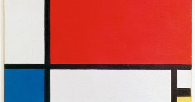 Culture Trivia Question: Which artist is famous for painting simple geometric elements?