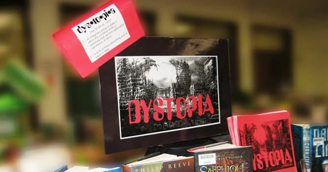 Culture Trivia Question: Which event caused the rise of dystopian fiction?