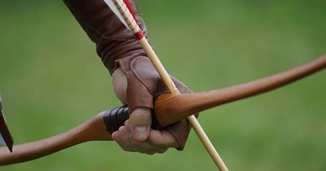 Sport Trivia Question: Which of these is the trophy for an archery tournament held in Scorton in Yorkshire, England?
