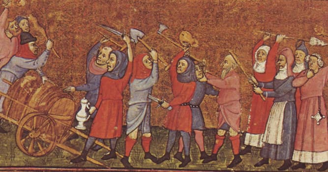 History Trivia Question: Which of these was a popular revolt by peasants that took place in France in 1358?