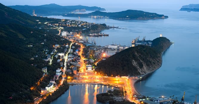 Geography Trivia Question: Which UNESCO World Heritage Site is located on the Kamchatka Peninsula?