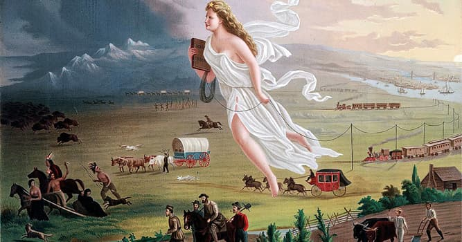 """Culture Trivia Question: Who first popularized the phrase """"Manifest Destiny""""?"""