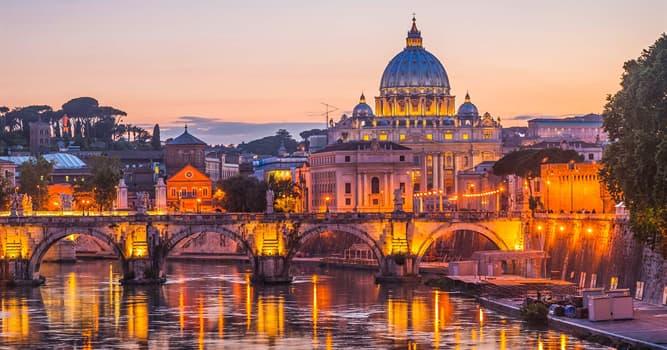 Geographie Wissensfrage: Wie heißt die Hauptstadt Italiens?