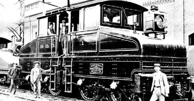 Wissenschaft Wissensfrage: Wo wurde die erste elektrische Lokomotive hergestellt?