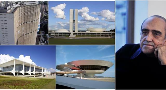 Cultura Pregunta Trivia: ¿De qué país era el famoso arquitecto Oscar Niemeyer?
