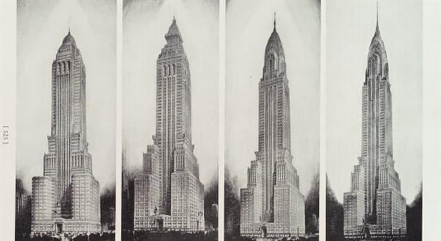 Cultura Pregunta Trivia: ¿A qué estilo artístico pertenece el edificio Chrysler de Nueva York?