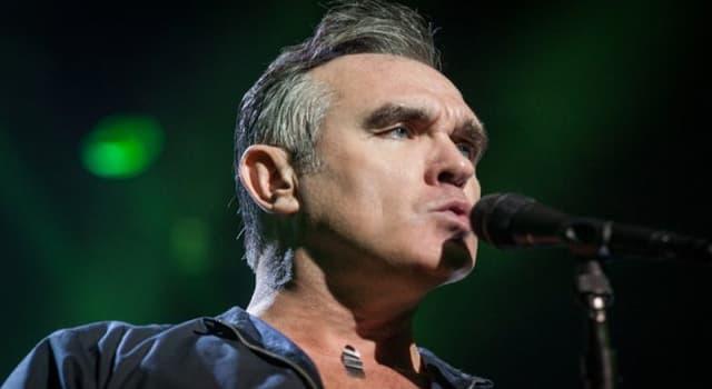 Cultura Pregunta Trivia: ¿A qué grupo musical perteneció el cantante Morrissey?