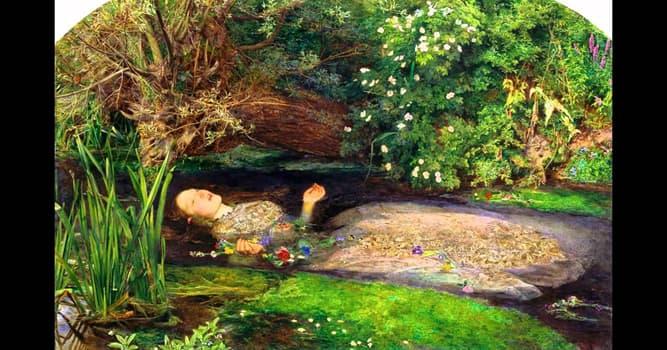 """Cultura Pregunta Trivia: ¿A qué movimiento artístico corresponde el cuadro """"Ofelia"""" de John Everett Millais?"""