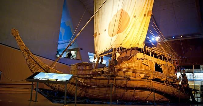 Geschichte Wissensfrage: Aus welchem Holz wurde das Floß Kon-Tiki gebaut, auf dem Thor Heyerdahl über den Pazifik segelte?
