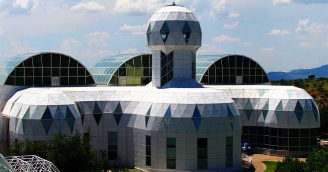 Сiencia Pregunta Trivia: ¿Por qué el ecosistema artificial Biosfera 2 lleva el número 2 en su título?