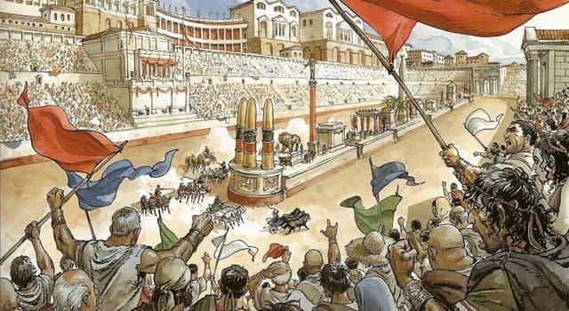 Historia Pregunta Trivia: ¿Cuál de los siguientes espectáculos no tenía lugar en los circos de la Antigua Roma?