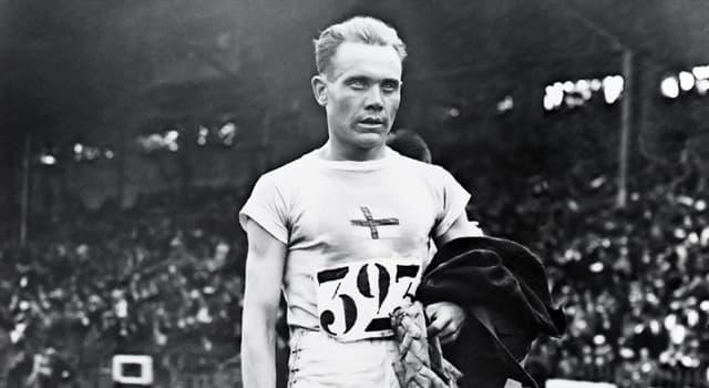 Deporte Pregunta Trivia: ¿Qué hizo Paavo Nurmi cuando las autoridades finlandesas rechazaron que compitiera en la carrera de 10000 mts?