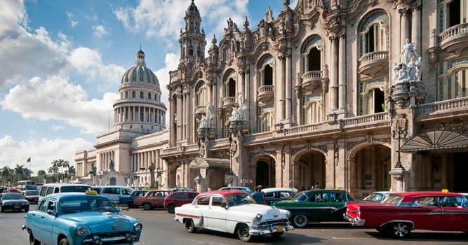 Geografia Pytanie-Ciekawostka: Co jest stolicą Kuby?