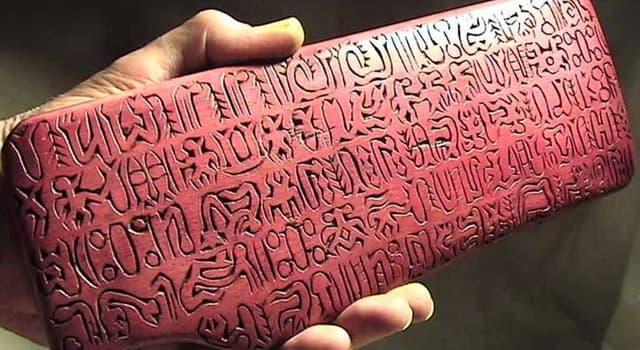 """Cultura Pregunta Trivia: ¿Cómo se denomina el sistema de escritura de la imagen conocido como """"Rongo rongo""""?"""