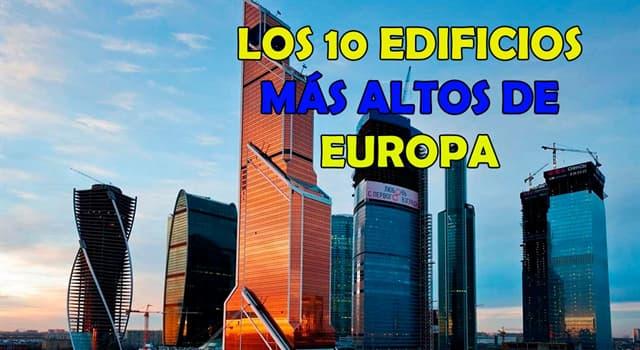 Geografía Pregunta Trivia: ¿Cuál de las siguientes es la torre de comunicación más alta de Europa?