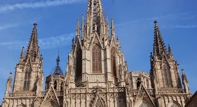 Historia Pregunta Trivia: ¿Cuál de las siguientes fue la primera construcción en estilo gótico?