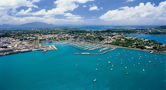 Geografía Pregunta Trivia: ¿Cuál es la capital de Nueva Caledonia?