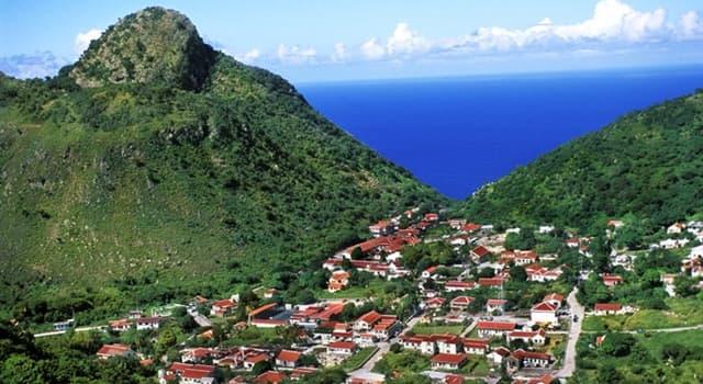 Geografía Pregunta Trivia: ¿Cuál es la superficie de la isla de Saba?