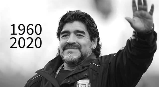 Deporte Pregunta Trivia: ¿Cuál fue la causa del fallecimiento del futbolista argentino Diego Armando Maradona en noviembre del 2020?