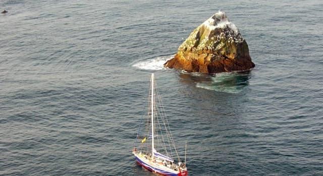 """Geografía Pregunta Trivia: ¿De qué está compuesto el pequeño islote llamado """"Rockall""""?"""