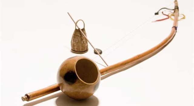"""Cultura Pregunta Trivia: ¿De donde es originario el instrumento musical llamado """"Birimbao""""?"""
