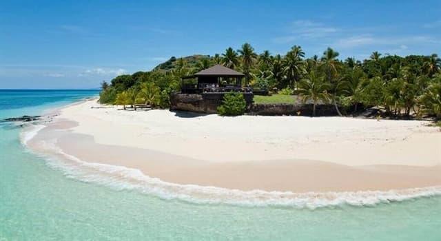 Geografía Pregunta Trivia: ¿Dónde están ubicadas las islas de Mamanuca?