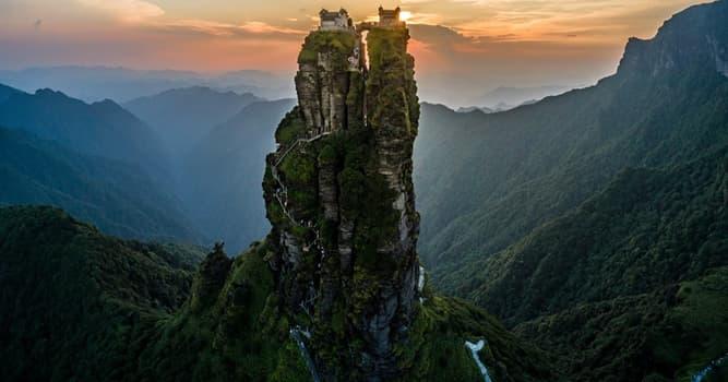 Geografía Pregunta Trivia: ¿Dónde se encuentra esta increíble montaña?