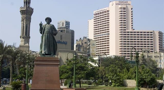 Geografía Pregunta Trivia: ¿Dónde se encuentra la plaza Tahrir o plaza de la Liberación?