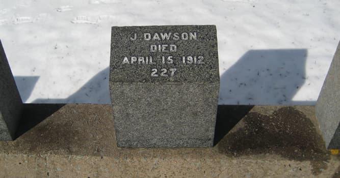 """Historia Pregunta Trivia: ¿Dónde se hayan enterrados los cadáveres rescatados del """"Titanic"""" por el buque""""Mackay Bennet""""?"""