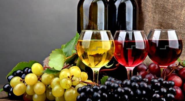 Cultura Pregunta Trivia: ¿Dónde se produjo por primera vez el vino?