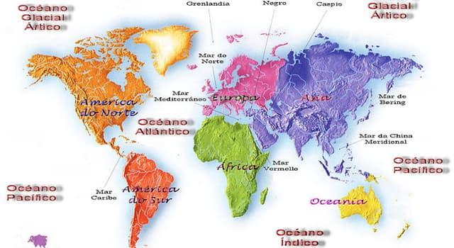 Naturaleza Pregunta Trivia: ¿En cuántos dominios se dividen los océanos y mares del mundo?
