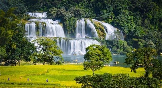 Geografía Pregunta Trivia: ¿En la frontera de qué países se encuentran las cataratas Ban Gioc-Detian?