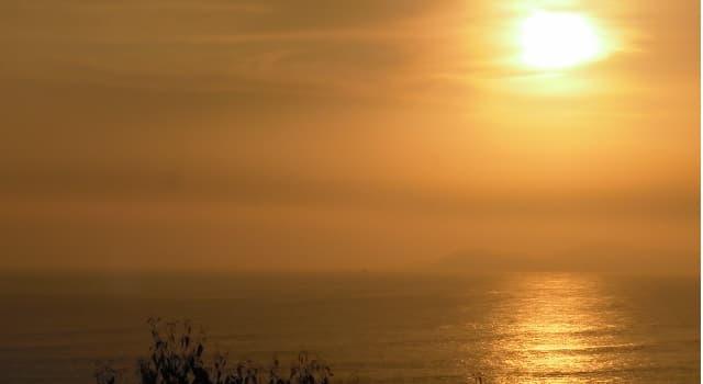 Naturaleza Pregunta Trivia: ¿En la naturaleza, a qué se le denomina con el nombre de ocaso?