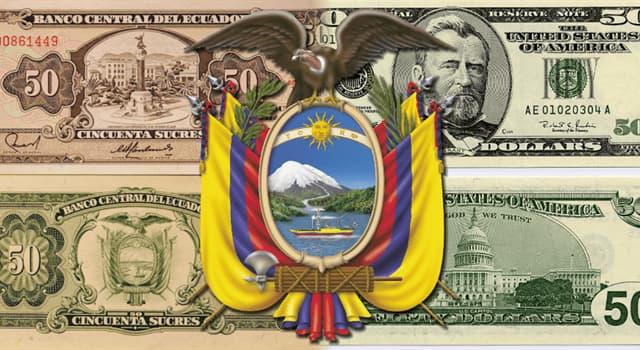 Historia Pregunta Trivia: ¿En qué año Ecuador adoptó el dólar como moneda oficial?