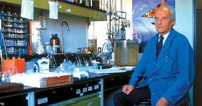 Сiencia Pregunta Trivia: ¿En qué año el científico Luis Federico Lelior ganó el Premio Nobel de Química?