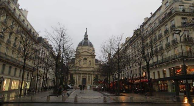 Sociedad Pregunta Trivia: ¿En qué año se fundó el Colegio de la Sorbona (Collège de Sorbonne)?