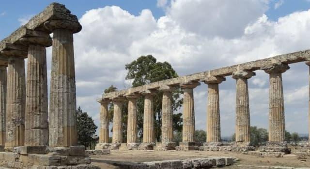 Geografía Pregunta Trivia: ¿En qué país actual se localizaba la antigua ciudad de Síbari?